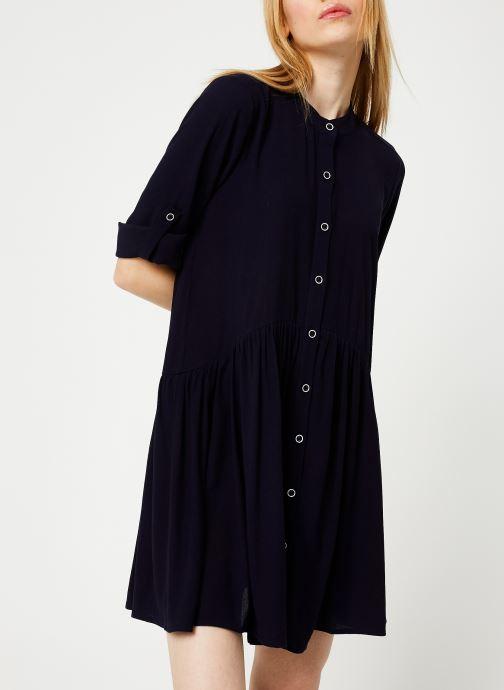 Vêtements Yuka ROBE RAFAELA Bleu vue droite