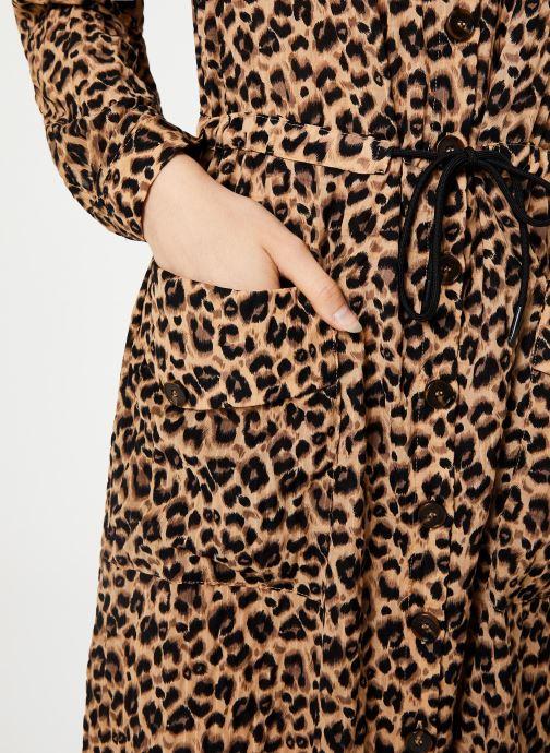 Vêtements Yuka ROBE RICA Marron vue face