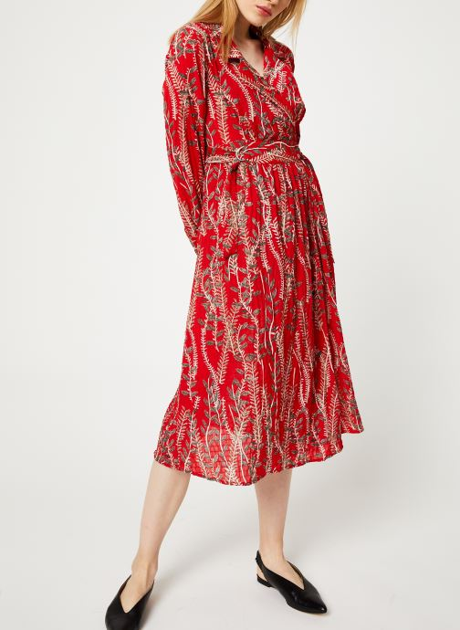 Vêtements Yuka ROBE ROMY Rouge vue bas / vue portée sac