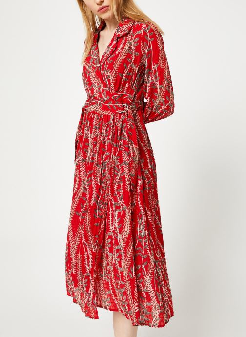 Vêtements Yuka ROBE ROMY Rouge vue droite