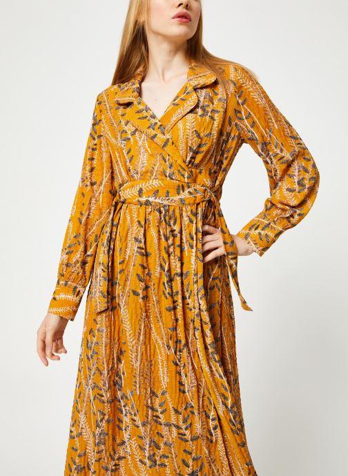 Vêtements Yuka ROBE ROMY Jaune vue droite