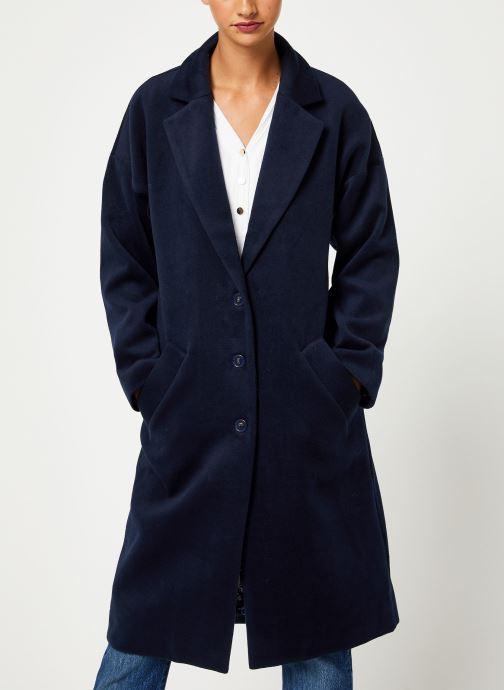 Vêtements Yuka MANTEAU MAITE Bleu vue détail/paire