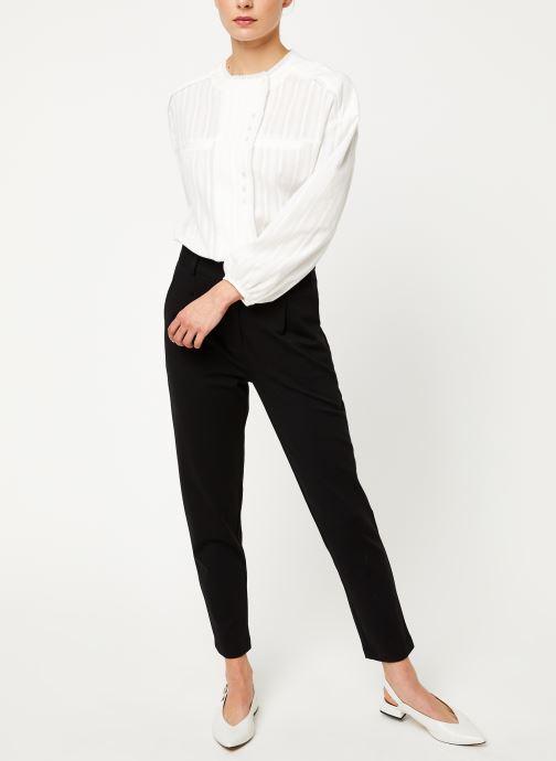 Vêtements Yuka PANTALON MATHIS Noir vue bas / vue portée sac