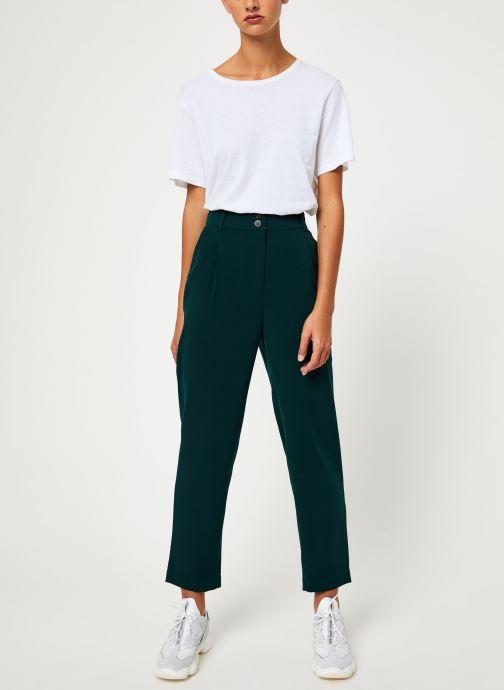 Vêtements Yuka PANTALON PALMA Vert vue bas / vue portée sac