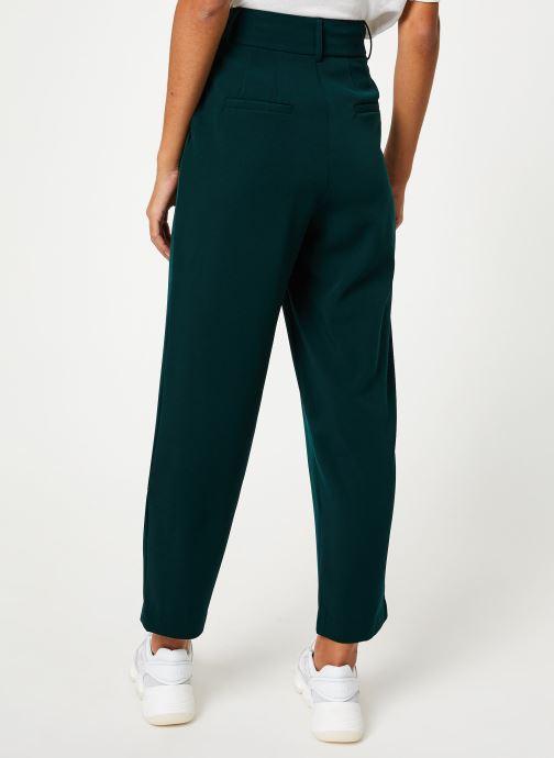 Vêtements Yuka PANTALON PALMA Vert vue portées chaussures