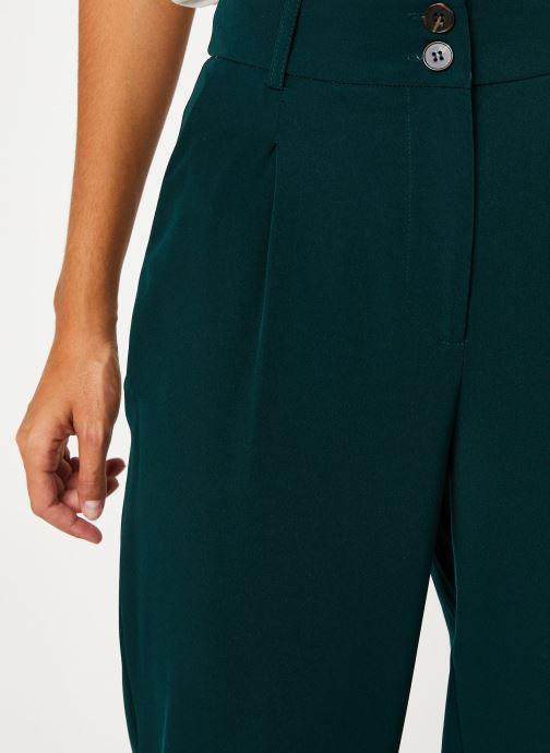 Vêtements Yuka PANTALON PALMA Vert vue face