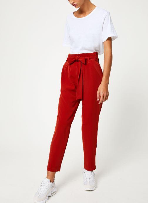 Vêtements Yuka PANTALON PANDORE Rouge vue bas / vue portée sac