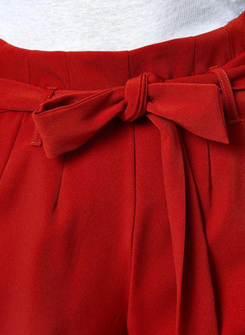 Vêtements Yuka PANTALON PANDORE Rouge vue face