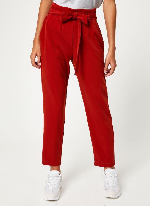 Vêtements Yuka PANTALON PANDORE Rouge vue détail/paire
