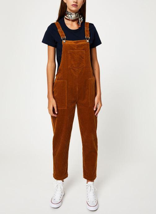 Vêtements Yuka SALOPETTE ONDINE Marron vue bas / vue portée sac