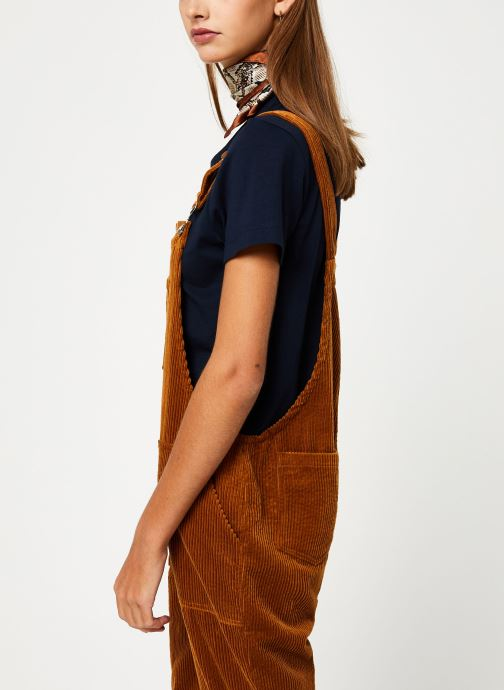 Vêtements Yuka SALOPETTE ONDINE Marron vue droite