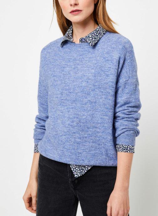 Vêtements Yuka PULL MANEL Bleu vue détail/paire