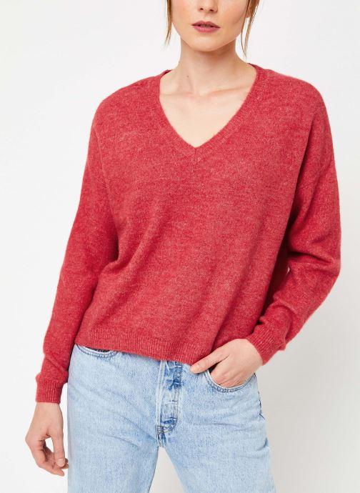 Vêtements Yuka PULL V MATIAS Rouge vue droite