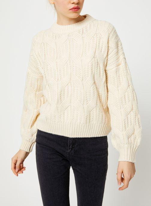 Vêtements Yuka PULL MAYLIS Blanc vue détail/paire