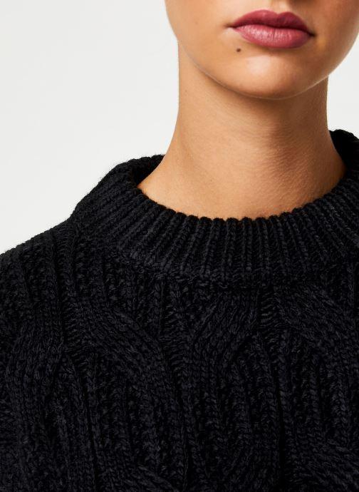 Vêtements Yuka PULL MAYLIS Noir vue face