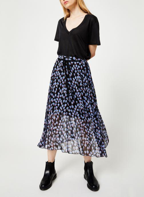 Vêtements Yuka JUPE JOSIE Noir vue bas / vue portée sac