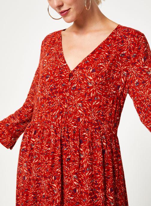 Kleding Vila Vikafina Kioma Dress Rood voorkant