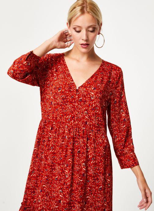 Kleding Vila Vikafina Kioma Dress Rood rechts