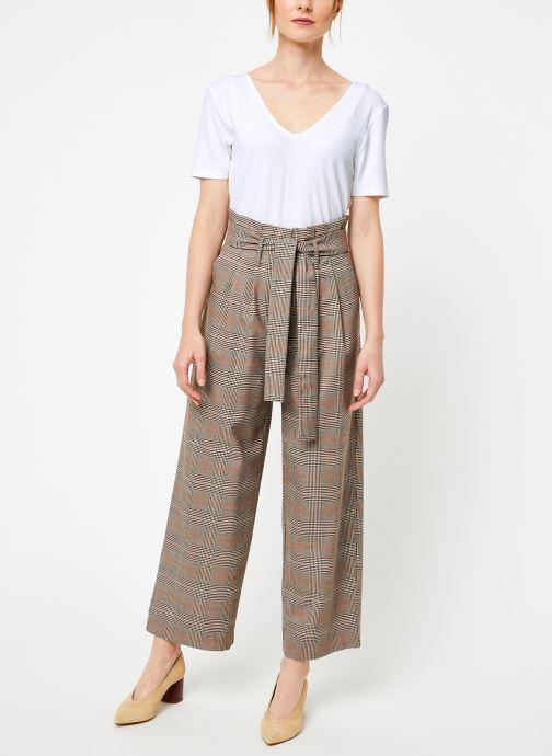Vêtements Vila Vimulini Pants Blanc vue bas / vue portée sac