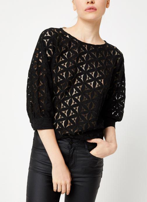 Vêtements Vila Viprua Top Noir vue droite