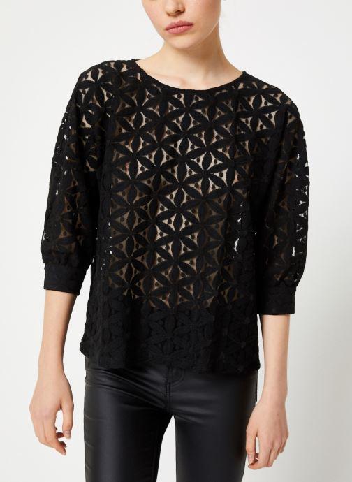 Vêtements Vila Viprua Top Noir vue détail/paire