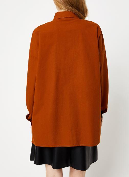 Kleding Vila Vitancy Shirt Bruin model