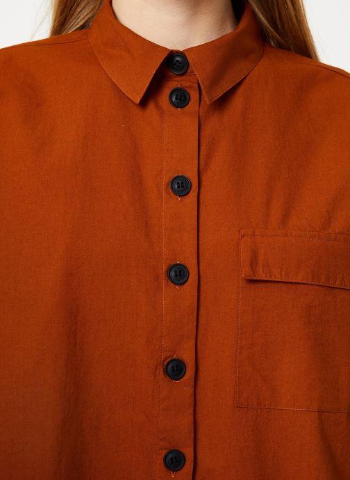 Tøj Vila Vitancy Shirt Brun se forfra
