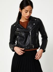 Kleding Accessoires Viwillas Leather Jacket