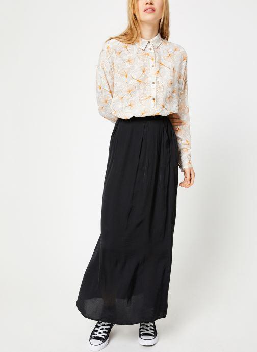 Vêtements Vila Viopening Peyton Shirt Blanc vue bas / vue portée sac