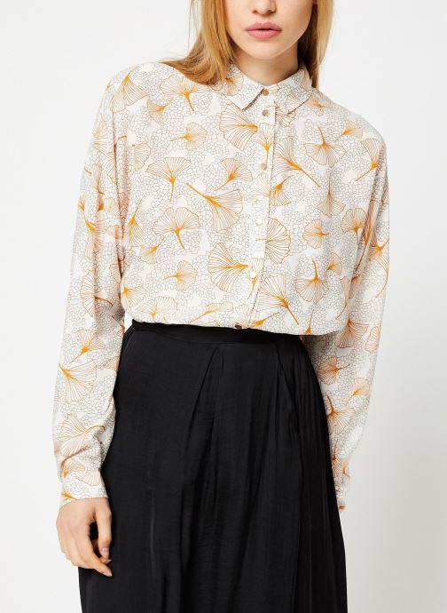 Vêtements Vila Viopening Peyton Shirt Blanc vue détail/paire