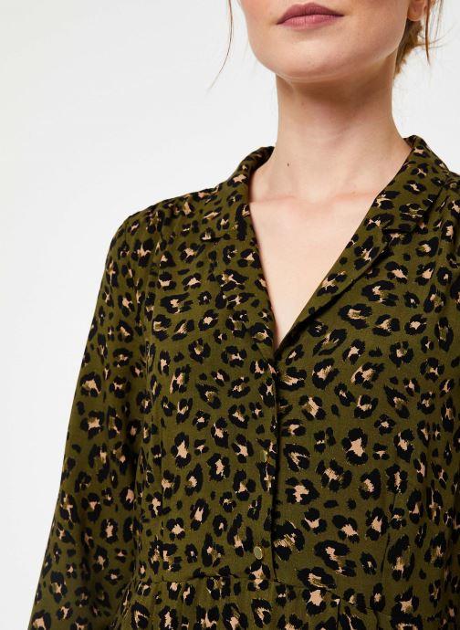 Vêtements Vila Vigiulia Dress Vert vue face