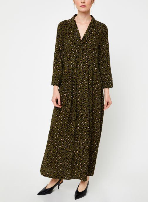 Vêtements Vila Vigiulia Dress Vert vue droite