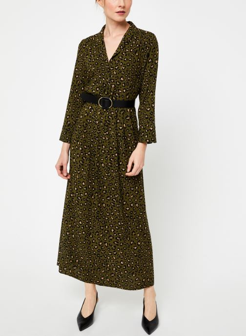 Vêtements Vila Vigiulia Dress Vert vue détail/paire