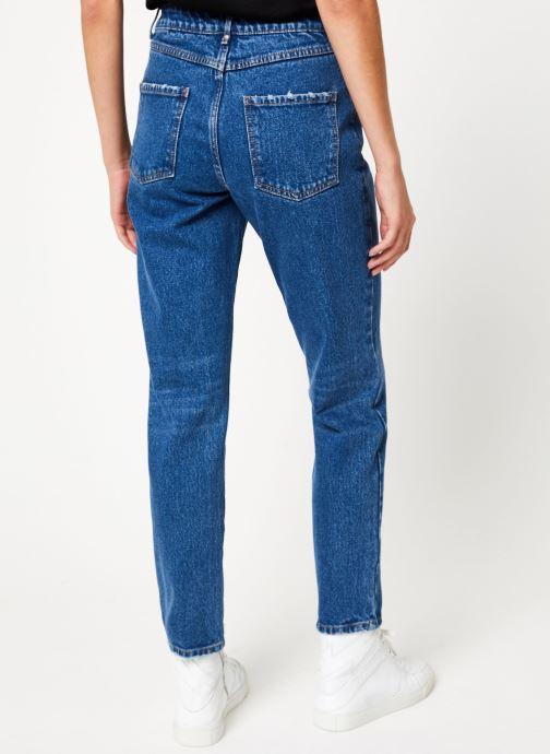Vêtements Vila Vibaily Jeans Bleu vue portées chaussures