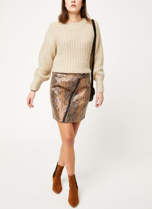 Vêtements Vila Visnaky Skirt Marron vue bas / vue portée sac
