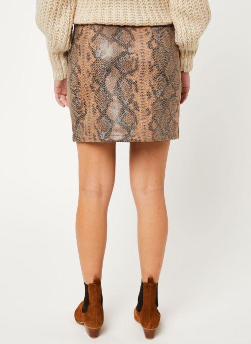 Vêtements Vila Visnaky Skirt Marron vue portées chaussures