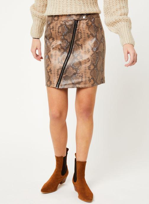 Vêtements Vila Visnaky Skirt Marron vue détail/paire