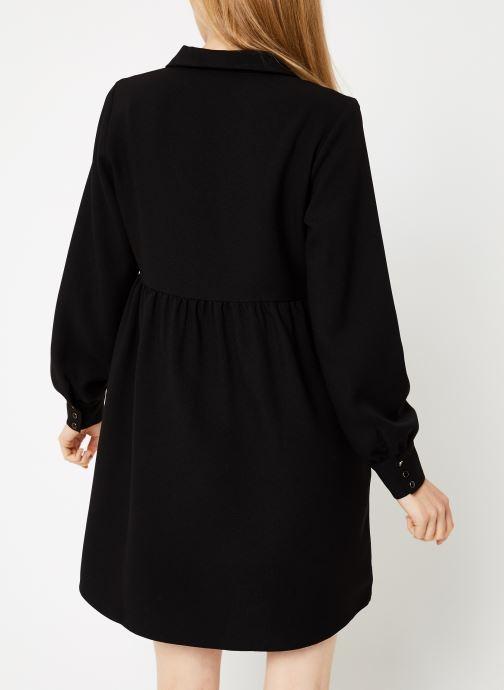 Vêtements Vila Vimicca Dress Noir vue portées chaussures