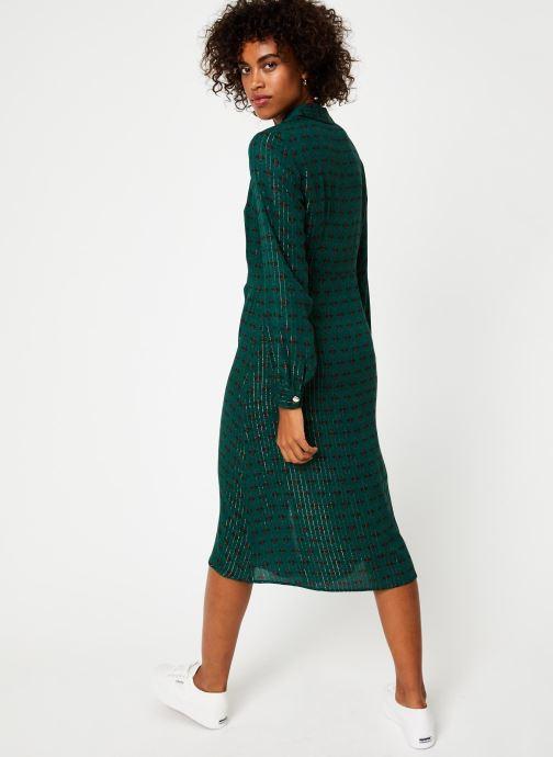 Vêtements Vila Vibjork Dress Vert vue portées chaussures