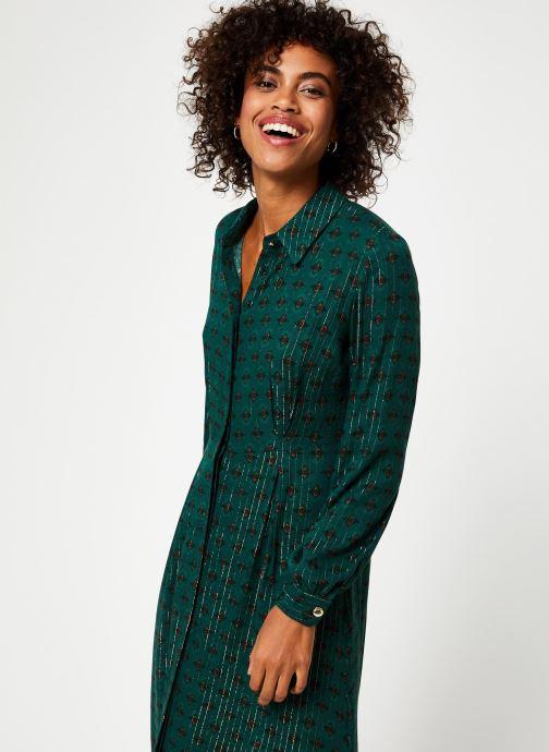 Vêtements Vila Vibjork Dress Vert vue droite