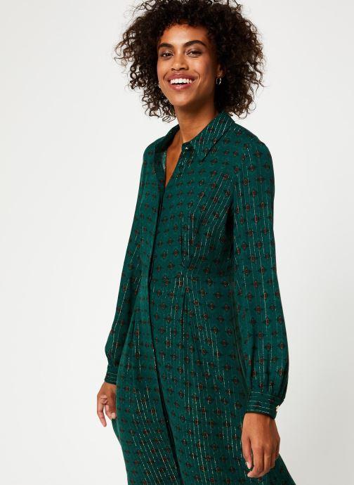 Vêtements Vila Vibjork Dress Vert vue détail/paire