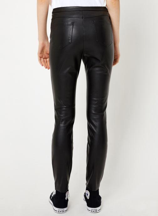 Vêtements Vila Vipen Rw Pants Noir vue portées chaussures