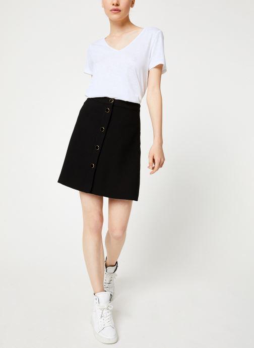 Vêtements Vila Vimicca Skirt Noir vue bas / vue portée sac