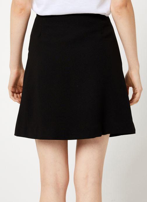 Vêtements Vila Vimicca Skirt Noir vue portées chaussures