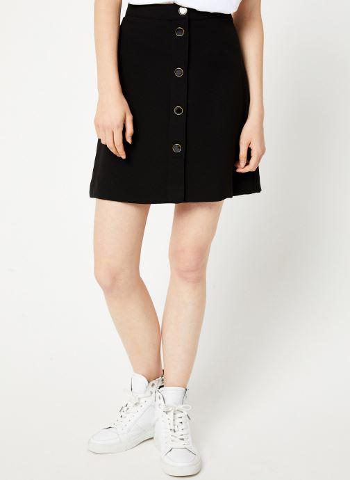 Vêtements Vila Vimicca Skirt Noir vue détail/paire