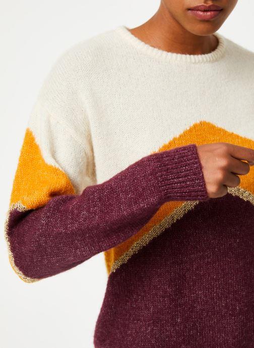 Vêtements Vila Vigood Knit Bordeaux vue face