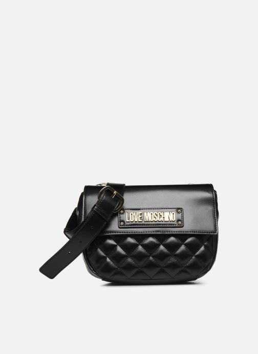 Bolsos de mano Love Moschino QUILTED CROSSBODY NEW Negro vista de detalle / par