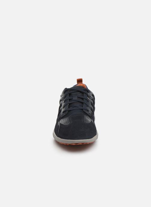 Sneaker Geox U SNAKE.2 A blau schuhe getragen
