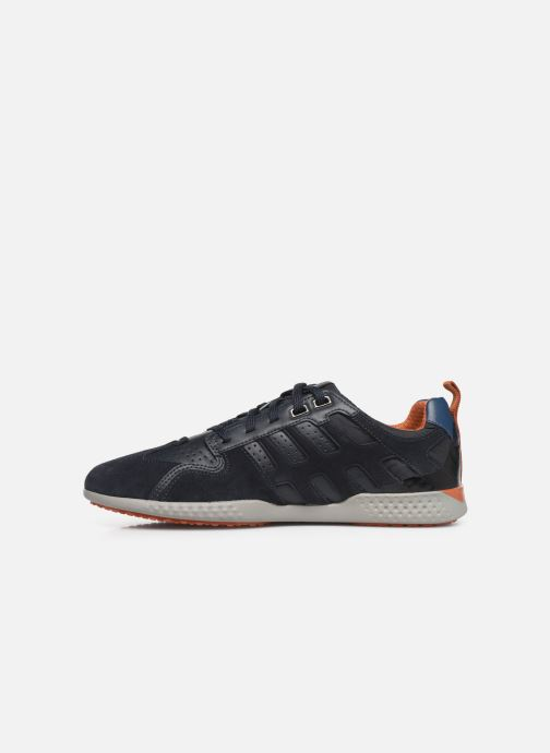 Sneaker Geox U SNAKE.2 A blau ansicht von vorne