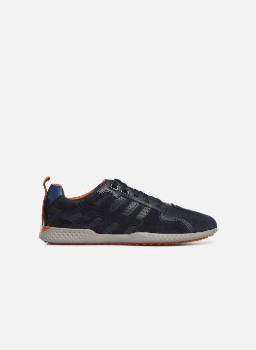 Sneaker Geox U SNAKE.2 A blau ansicht von hinten
